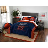University of Texas El Paso Modern Take Full/Queen Comforter Set
