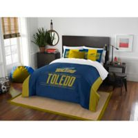 Toledo University Modern Take Full/Queen Comforter Set