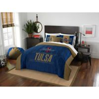 University of Tulsa Modern Take Full/Queen Comforter Set