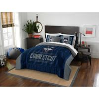 University of Connecticut Modern Take Full/Queen Comforter Set
