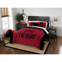 University of Nevada Las Vegas Modern Take Full/Queen Comforter Set