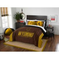 University of Wyoming Modern Take Full/Queen Comforter Set