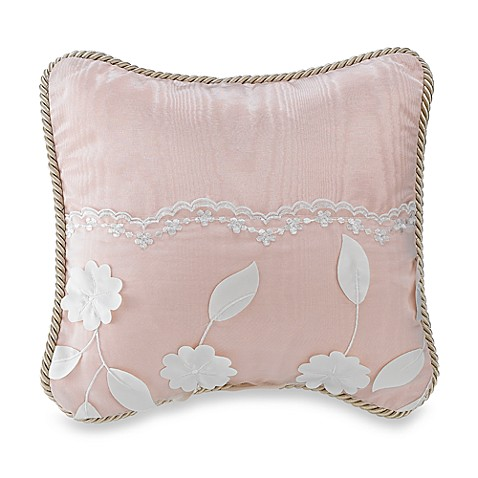 Bedding > Olivia Decorative Pillow by Glenna Jean in Pink from Buy Buy Baby