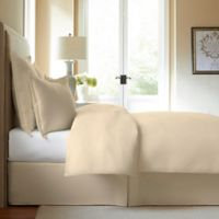 300-Thread-Count Cotton King Bed Skirt in Ivory