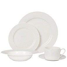 Nevaeh White® by Fitz and Floyd® Rim Dinnerware Collection - Bed ...