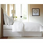 300-Thread-Count Cotton California King Bed Skirt in White