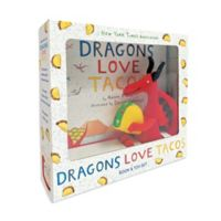 "Children's Book and Toy Set: ""Dragons Love Tacos"" by Adam Rubin"
