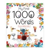 "Children's Hard Cover Book: ""My First 1000 Words"" by Caroline Modeste"
