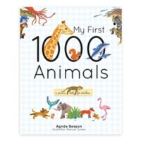 """Children's Hard Cover Book: """"My First 1000 Animals"""" by Agnes Besson"""