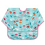 Bumkins® Umbrella Patterns Long Sleeved Bib in Blue