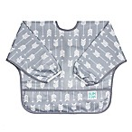 Bumkins® Arrows Long Sleeved Bib in Grey
