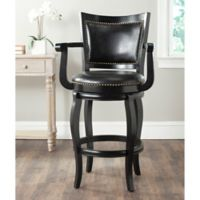 Safavieh Gitano Barstool in Black
