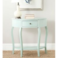 Safavieh Jan Console Table in Aqua