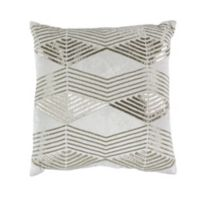 Callisto Home Geo Accent Pillow in Cream