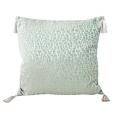 Spa Blue Throw Pillows : Thro by Mario Lorenz Gabriella Accent Pillow in Spa Blue - Bed Bath & Beyond