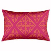 Boho King Pillow Sham in Pink