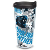 TervisR NFL Carolina Panthers 24 Oz Allover Wrap Tumbler With Lid