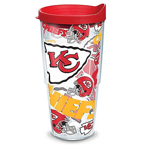 Tervis 174 Nfl Kansas City Chiefs 24 Oz Allover Wrap Tumbler