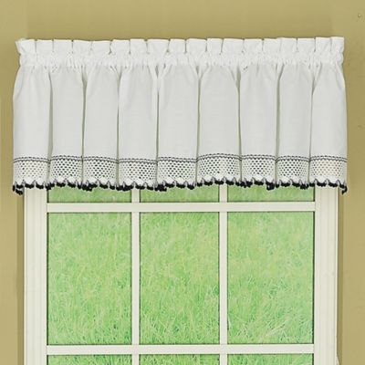 Buy Kitchen Curtains Valances and Swags from Bed Bath & Beyond