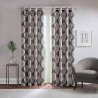 Regency Heights® Zion 84-Inch Grommet Top Room Darkening Window Curtain Panel in Charcoal
