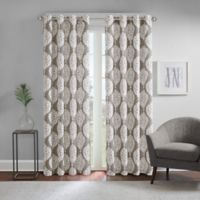 Regency Heights® Zion 84-Inch Grommet Top Room Darkening Window Curtain Panel in Taupe
