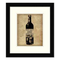 """Keep Calm and Drink Wine"" Wall Art"
