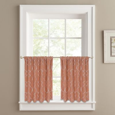 Buy 24-Inch Curtain Tiers from Bed Bath & Beyond