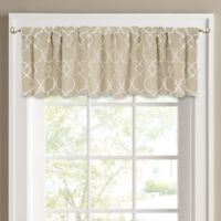 Colordrift Mandy Window Valance in Sand