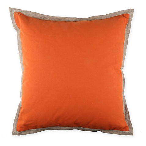 Orange Throw Pillows For Bed : Bose Throw Pillow in Orange - Bed Bath & Beyond