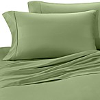 Eucalyptus Origins™ 100% Tencel® Lyocell 400-Thread-Count Striped Queen Sheet Set in Sage