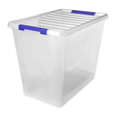Buy Clear Storage Bins from Bed Bath Beyond