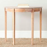 Safavieh Jethro Console Table in Maple