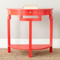 Safavieh Liana Console Table in Red