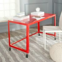 Safavieh Bentley Desk in Red