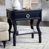 Safavieh Alaia Nightstand in Navy