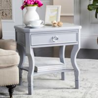 Safavieh Alaia Nightstand in Grey