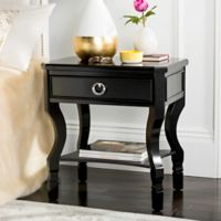 Safavieh Alaia Nighstand in Black