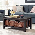 Forest Gate 40-Inch Storage Coffee Table in Espresso
