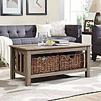 Forest Gate 40-Inch Storage Coffee Table in Driftwood