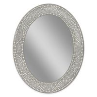 Opal Mosaic 23-Inch x 29-Inch Frameless Wall Mirror