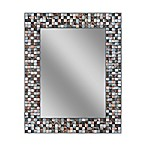 Copper Tile 24-Inch x 30-Inch Frameless Mirror