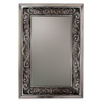 Verona 24-Inch x 36-Inch Mirror in Brushed Nickel