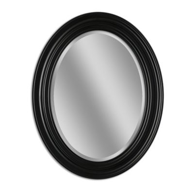 black oval bathroom mirror buy accent wall mirrors from bed bath amp beyond 17412