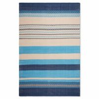 Fab Habitat Zen 6-Foot x 9-Foot Rug in Blue
