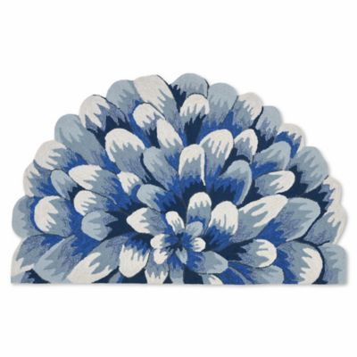 Liora Manne Frontporch Mum 1-Foot 8-Inch x 2-Foot 6-  sc 1 st  Bed Bath \u0026 Beyond & Buy Designer Door Mats from Bed Bath \u0026 Beyond