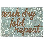"Liora Manne ""Wash and Repeat"" 1-Foot 10-Inch x 2-Foot 6-Inch Indoor/Outdoor Accent Rug"