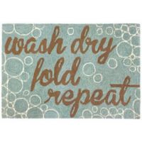 """Liora Manne """"Wash and Repeat"""" 1-Foot 10-Inch x 2-Foot 6-Inch Indoor/Outdoor Accent Rug"""