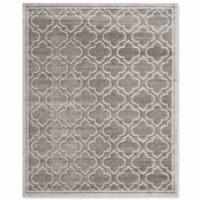 Safavieh Amherst Belle 9-Foot x 12-Foot Indoor/Outdoor Area Rug in Grey/Light Grey