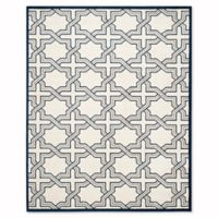 Safavieh Amherst Derry 9-Foot x 12-Foot Indoor/Outdoor Area Rug in Ivory