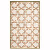Safavieh Amherst Derry 5-Foot x 8-Foot Indoor/Outdoor Area Rug in Ivory